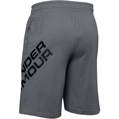 Pánske šortky - Under Armour SPORTSTYLE COTTON WORDMARK LOGO SHORT - 2