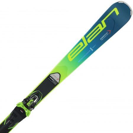 Závodní sjezdové lyže - Elan SL FUSION + EMX 11 - 3