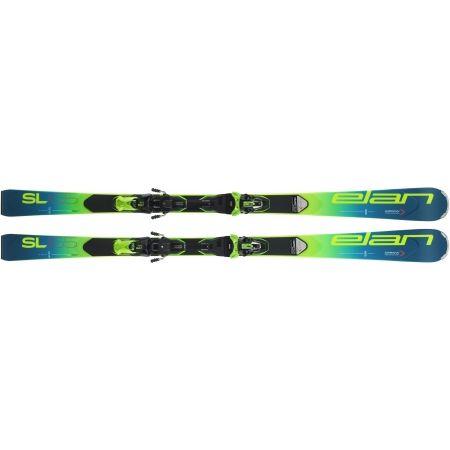 Závodní sjezdové lyže - Elan SL FUSION + EMX 11 - 4