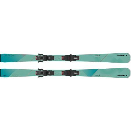 Dámské sjezdové lyže - Elan ILUMINA PS + ELW 9 - 4