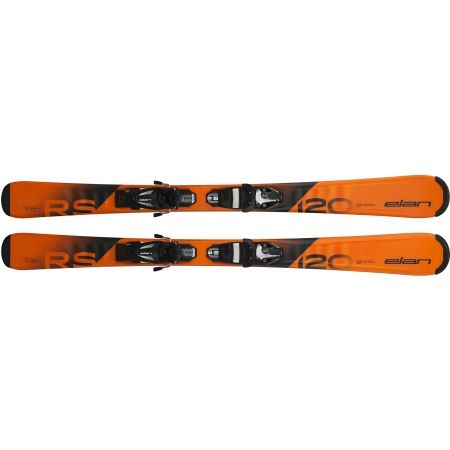 Младежки ски за спускане - Elan RS RIPSTICK QS + EL 4.5 - 2