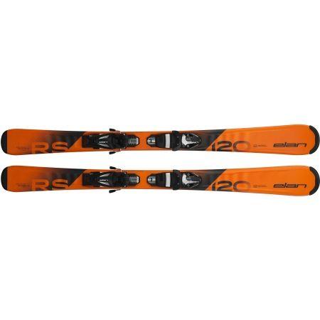 Juniorské sjezdové lyže - Elan RS RIPSTICK QS + EL 7.5 - 4