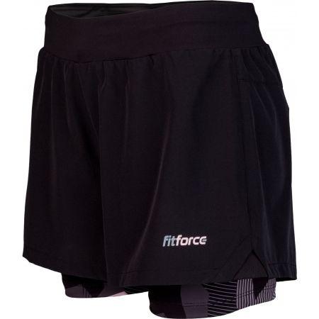 Dámské fitness šortky - Fitforce RAPHA - 1