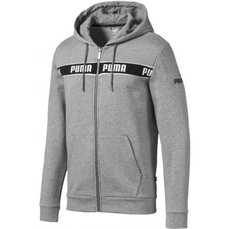 Pánská mikina - Puma AMPLIFIED HOODED JACKET - 1