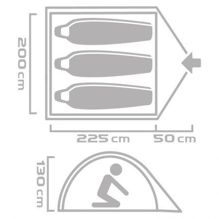Outdoor tent - Crossroad KOBUK 3 - 6