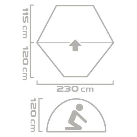 Stanový přístřešek - Crossroad CAPE - 6