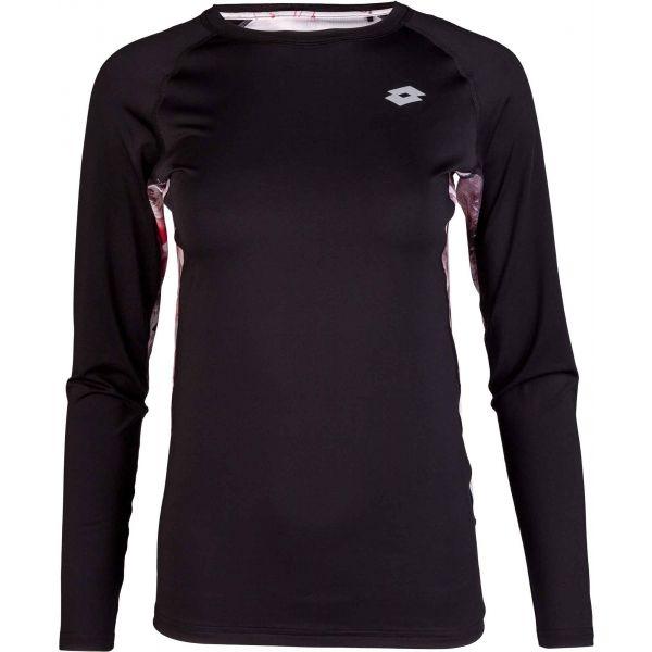 Lotto LYRIC černá XL - Dámské triko s dlouhým rukávem