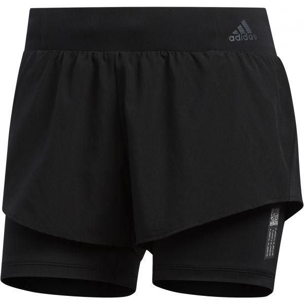 adidas ADAPT SHORT čierna XS - Dámske bežecké šortky