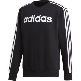 adidas ESSENTIALS 3 STRIPES CREWNECK FLEECE - Pánska mikina