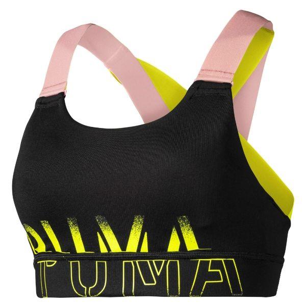 Puma FEEL IT BRA M žlutá XS - Sportovní podprsenka