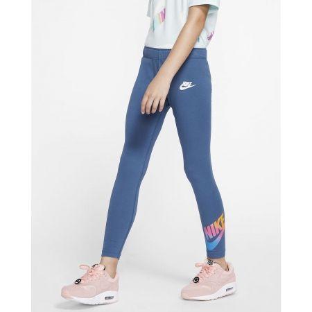 Dievčenské legíny - Nike NSW FAVORITES FF LEGGING - 4