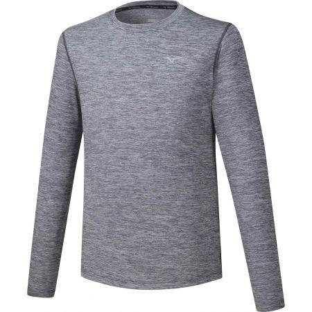 Pánské běžecké triko s dlouhým rukávem - Mizuno IMPULSE CORE LS TEE - 1