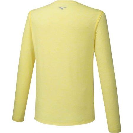 Pánske bežecké tričko s dlhým rukávom - Mizuno IMPULSE CORE LS TEE - 2