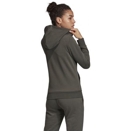 Women's hoodie - adidas W E LIN FZ HD - 7