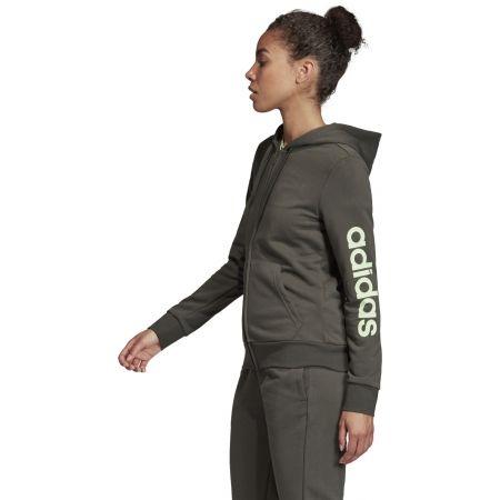 Women's hoodie - adidas W E LIN FZ HD - 6