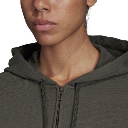 Women's hoodie - adidas W E LIN FZ HD - 8
