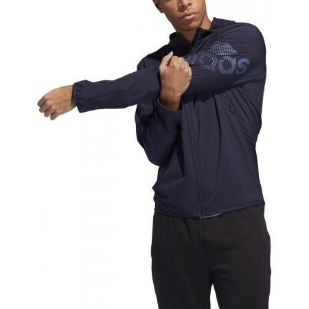 Hanorac sport de bărbați - adidas LOGO HOODIE - 3