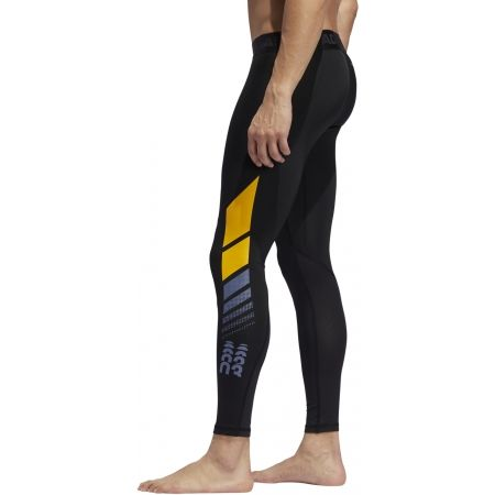 Men's sports tights - adidas MOTO ASK LT TIG - 5