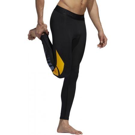 Men's sports tights - adidas MOTO ASK LT TIG - 4