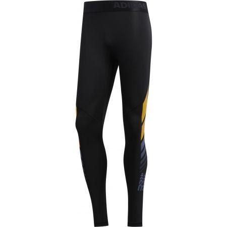Men's sports tights - adidas MOTO ASK LT TIG - 1