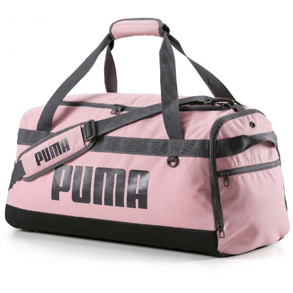 Puma CHALLENGER DUFFEL BAG M růžová NS - Sportovní taška