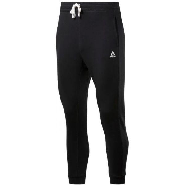 Reebok TE BIG LOGO JOGGER čierna XL - Pánske nohavice
