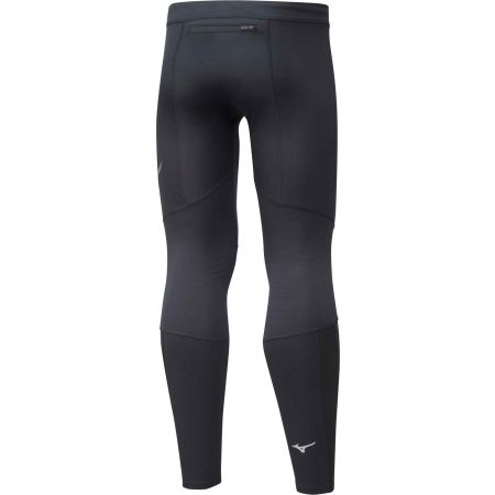 Pánske zateplené elastické nohavice - Mizuno WARMALITE TIGHT - 2