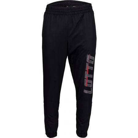 Мъжки спортни панталони - Lotto LOGO II PANT CUFF DB - 2