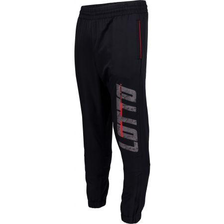 Мъжки спортни панталони - Lotto LOGO II PANT CUFF DB - 1