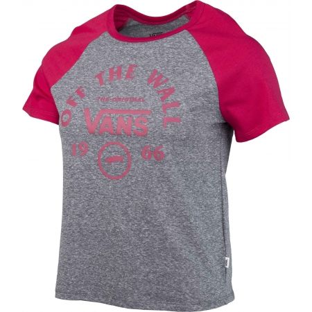 Women's T-shirt - Vans WM ATTENDANCE RINGER RAGLAN - 2