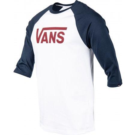 Men's 3/4 sleeve T-shirt - Vans MN VANS CLASSIC RAGLAN - 2
