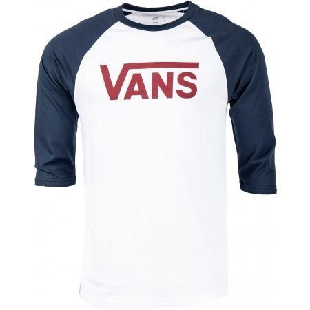 Men's 3/4 sleeve T-shirt - Vans MN VANS CLASSIC RAGLAN - 1