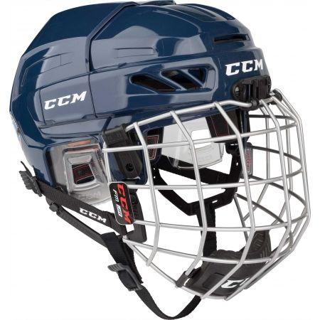 CCM FITLITE 3DS COMBO JR - Dětská hokejová helma