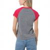 Women's T-shirt - Vans WM ATTENDANCE RINGER RAGLAN - 5