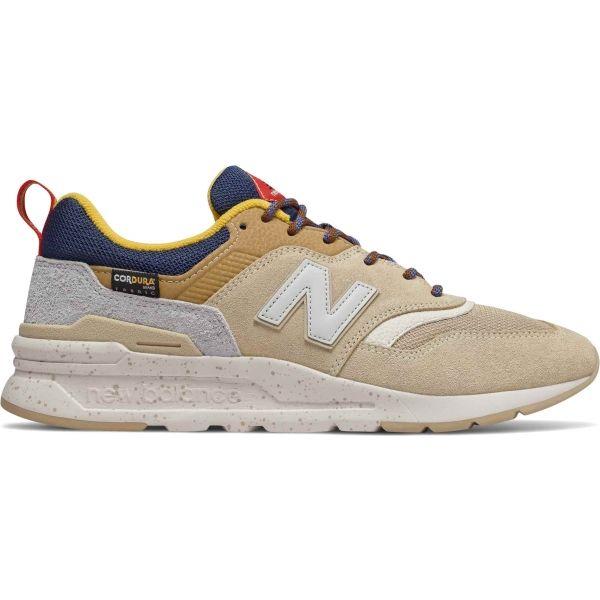 New Balance CM997HFA béžová 9.5 - Pánská vycházková obuv