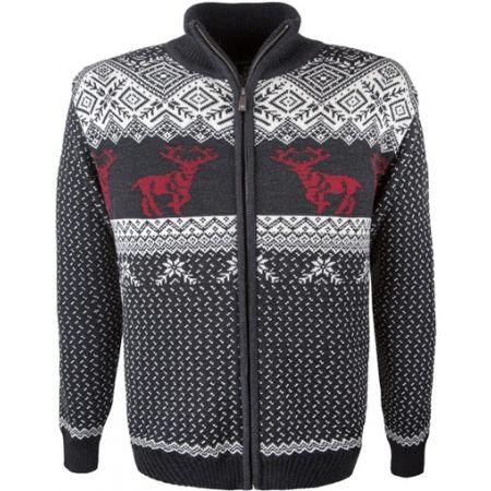 Men's knitted sweater - Kama MERINO SWEATER 4048 - 1