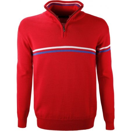 Kama MERINO SWEATER 4056 - Sweater with tricolour