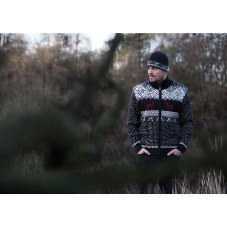 Men's knitted sweater - Kama MERINO SWEATER 4048 - 2