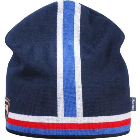 Pletená čiapka - Kama A140-108 PLETENÁ MERINO ČIAPKA - 3
