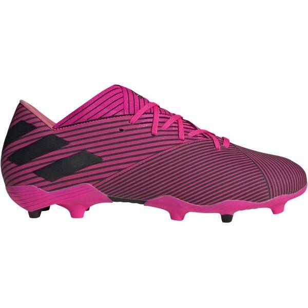 adidas NEMEZIZ 19.2 FG růžová 9 - Pánské kopačky
