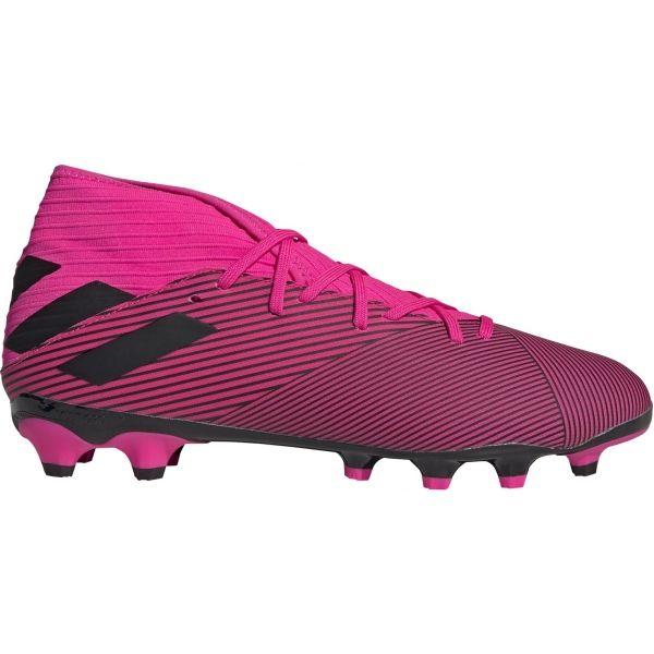adidas NEMEZIZ 19.3 MG růžová 9 - Pánské kopačky