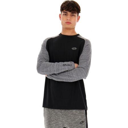 Pánske tričko s dlhým rukávom - Lotto DINAMICO TEE LS RGL MRB CO - 4