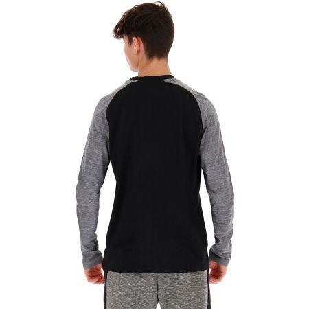 Pánske tričko s dlhým rukávom - Lotto DINAMICO TEE LS RGL MRB CO - 5