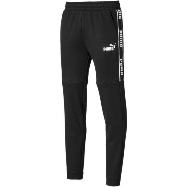 Puma AMPLIFIED PANTS FL čierna M - Pánske nohavice