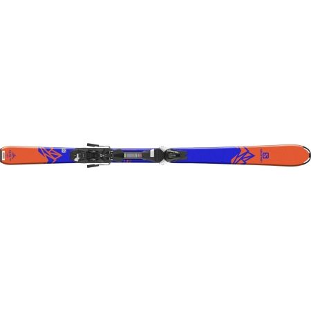 Juniorské zjazdové lyže - Salomon QST MAX JR M + L7 - 4