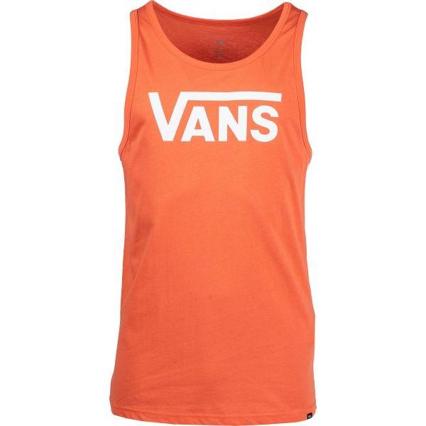 Vans MN VANS CLASSIC TANK oranžová XL - Pánské tílko