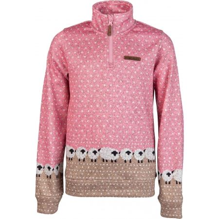 Head LIBA - Girls' fleece sweatshirt