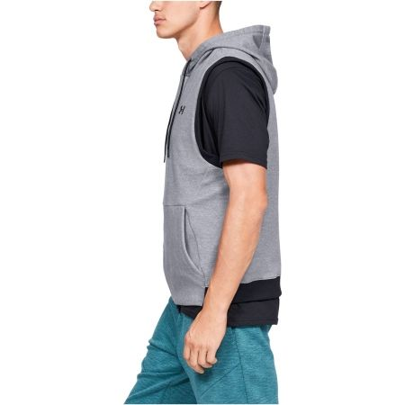 Мъжки елек - Under Armour UNSTOPPABLE 2X KNIT SL HOODIE - 2