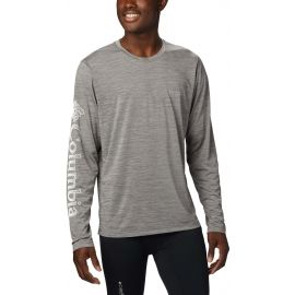 Columbia TRINITY TRAIL II LONG SLEEVE - Férfi póló
