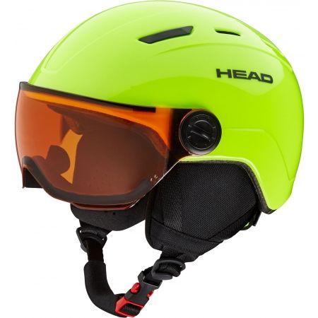 Head MOJO VISOR - Juniorská lyžiarska prilba